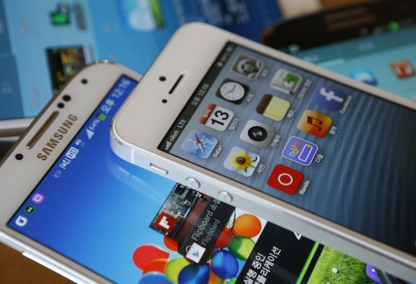 Android and IOS smartphones