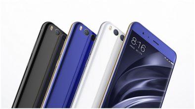 Xiomi MI 6 Smart phones