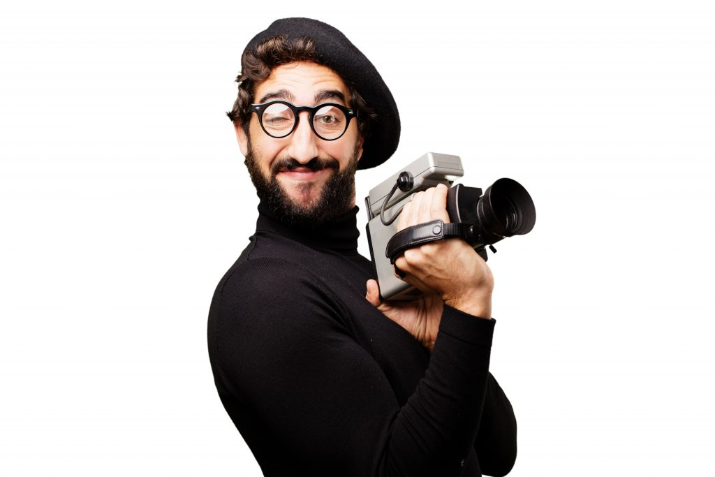 young french artist video camera