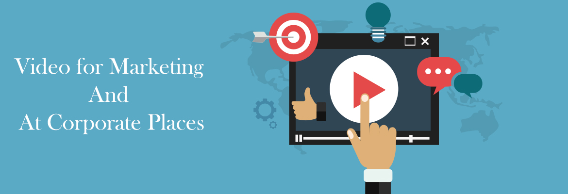 How to use live video for marketing and at corporate places
