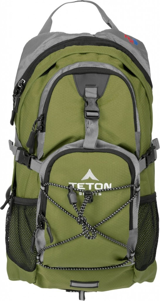TETON sports oasis 1100 2 liter hydration backpack:
