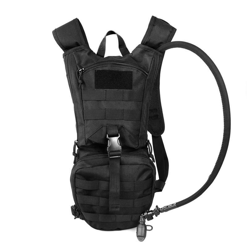 Tactical hydration pack backpack 900D with 2.5L bladder