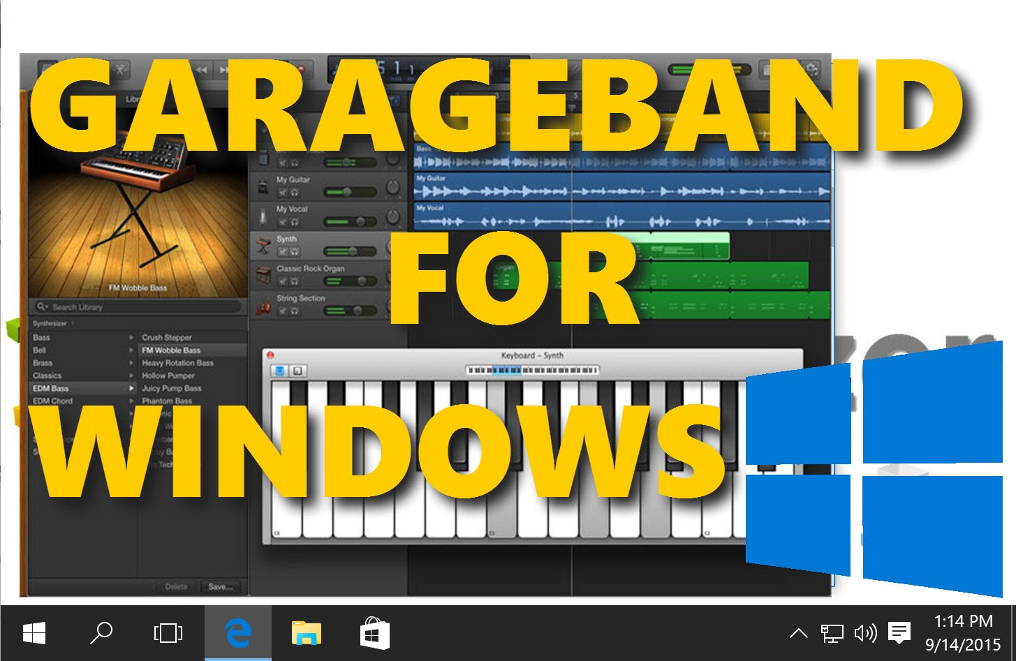Here is the Best Method to Use Garrageband for Windows