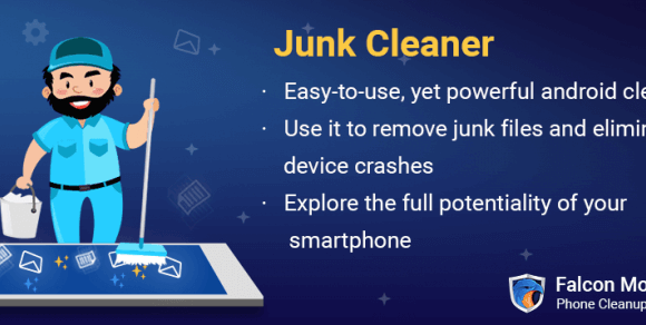 Cleanup Your Android Device Using Falcon Junk Cleaner For Android