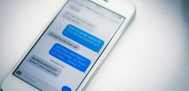 Is it possible to turn on iPhone messages to text instead of iMessages?