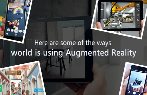 Here are some of the ways world is using Augmented Reality