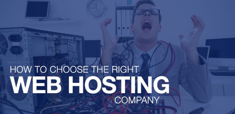 How to Choose Web Hosting Services for Your Website