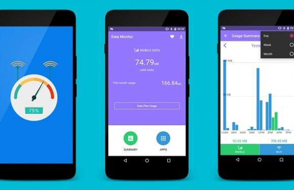 5 Android Apps That Offer Adequate Monitoring Of Mobile Data