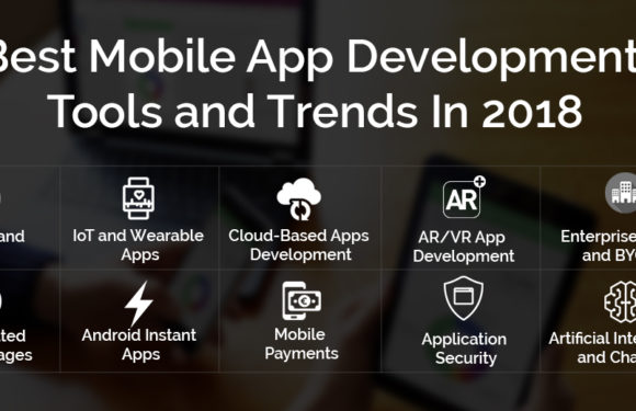 Top 10 Mobile App Development Tools And Trends In 2018
