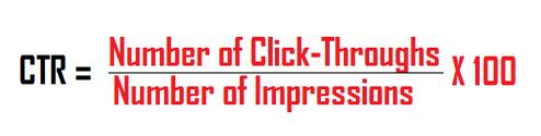 CTR (Click Through Rate)