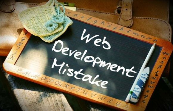 Common Web Development Mistakes and How to NOT Commit them