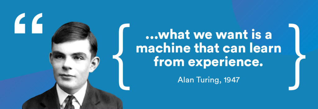 Alan Turing about deep learning