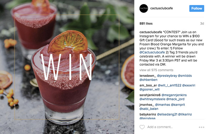 instagram-app-marketing-incentive-competition
