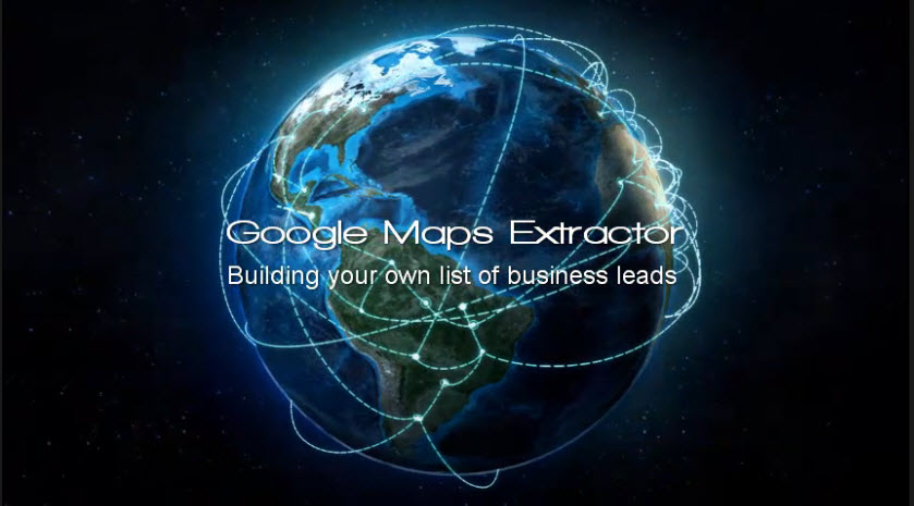 Google Maps Extractor