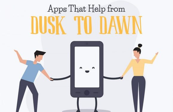 Apps that Help from Dusk to Dawn(Infographic)