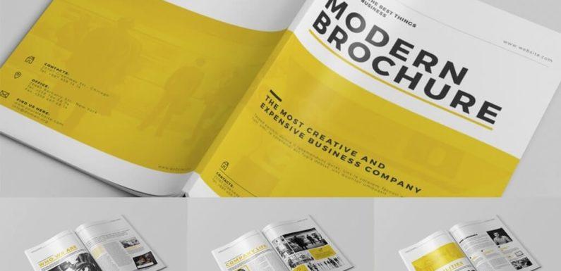 4 Tips On Effective Simple Brochure Design