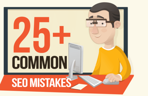 The Ultimate Checklist of SEO Mistakes To Avoid (Infographic)