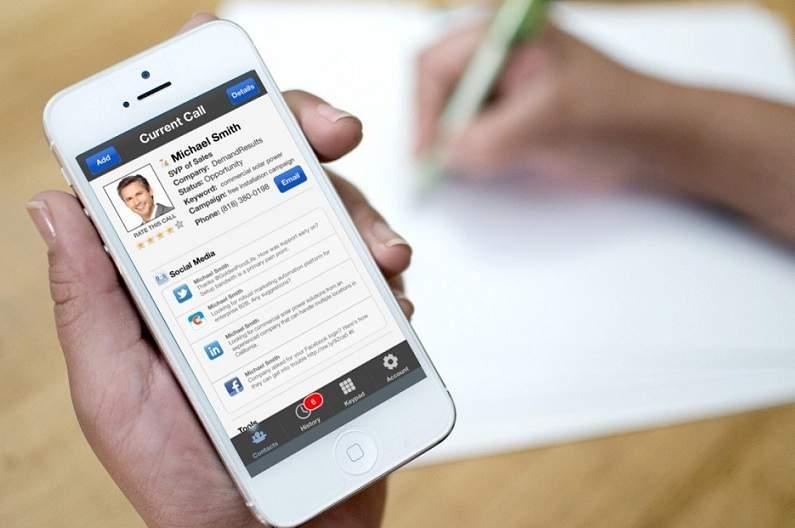 CRM app solution