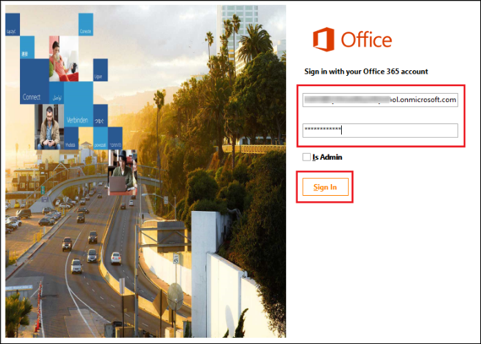 Office 365 Without Admin Login