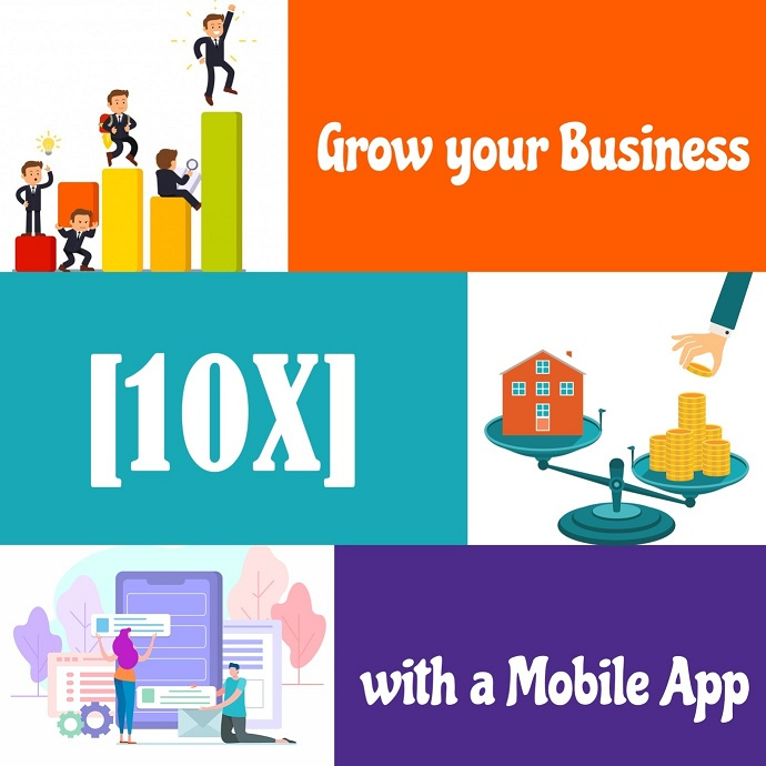 grow business with mobile app