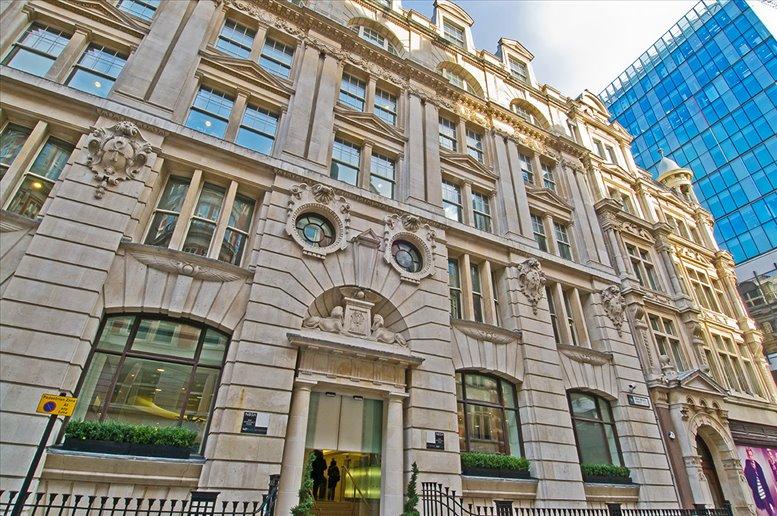 New Broad Street, Liverpool Street, London