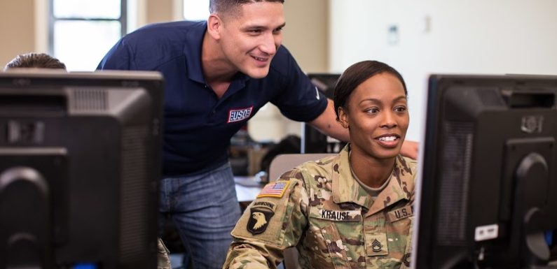 See How Military Vets Are Using Tech To Start New Careers