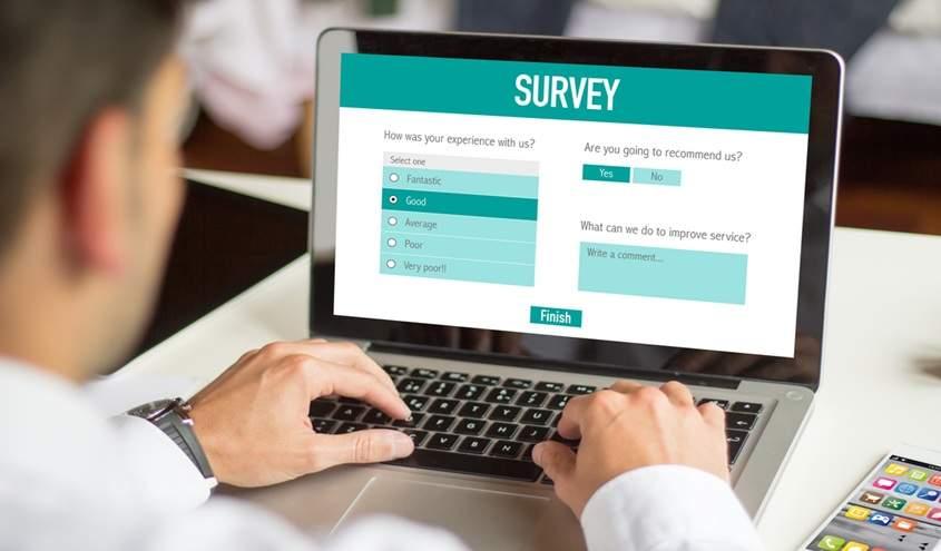 online customer survey