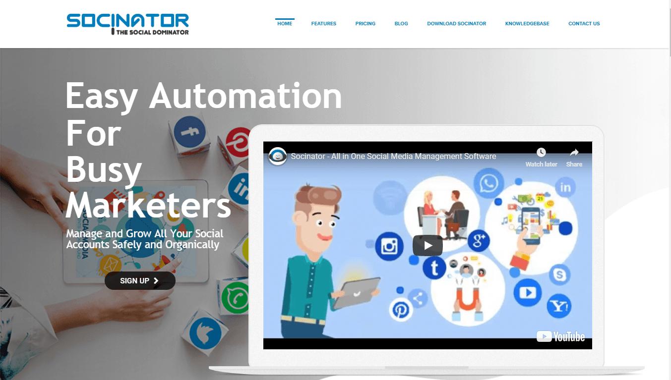 Socinator-social-media-management-tool