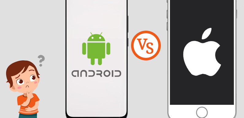 Android vs. iOS: Platform to choose first for your Mobile App Development |  Tech Web Space