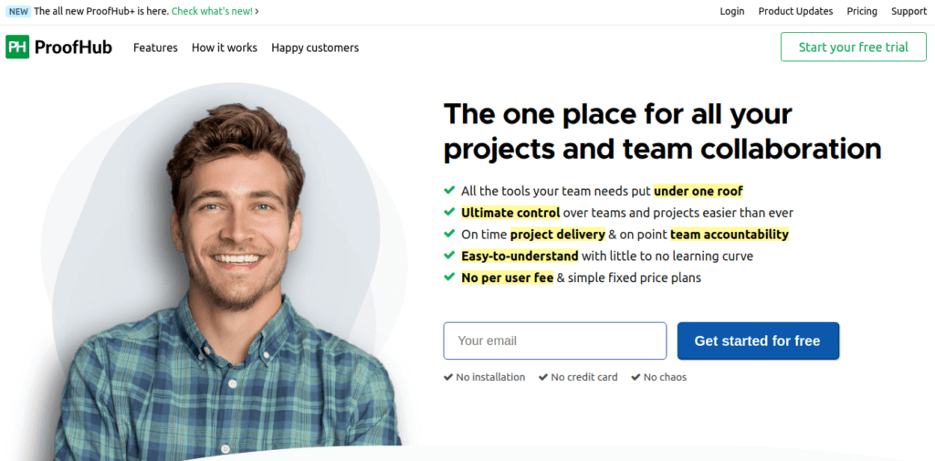 ProofHub| Project Planning Software