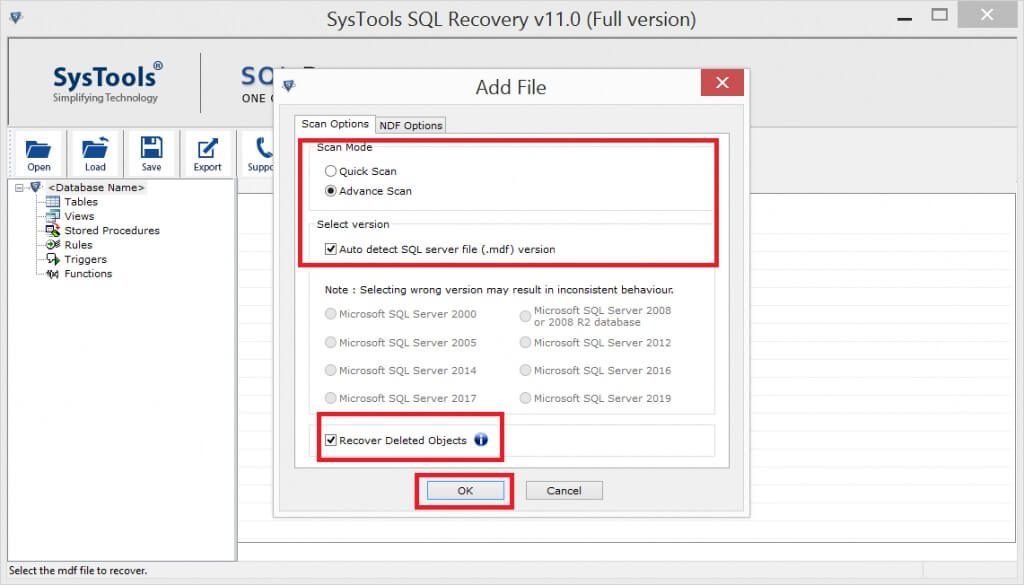 metadata corruption in SQL Server