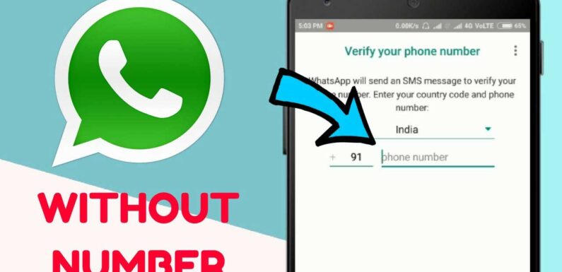 How to Use Whatsapp Without Phone Number Verification on Android